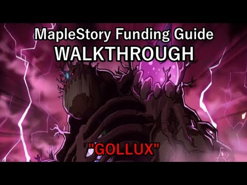 "MapleStory Funding Guide WALKTHROUGH 2018 Episode 6: ""Gollux"""