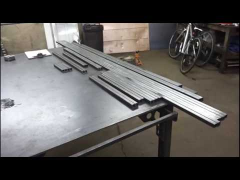 Metal Work Bench Tables Design Ideas