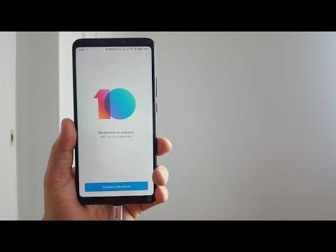 MIUI 10 на Xiaomi Mi Max 3 ► ПЕРВЫЕ ВПЕЧАТЛЕНИЯ!