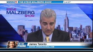 James Taranto -- columnist for The Wall Street Journal.
