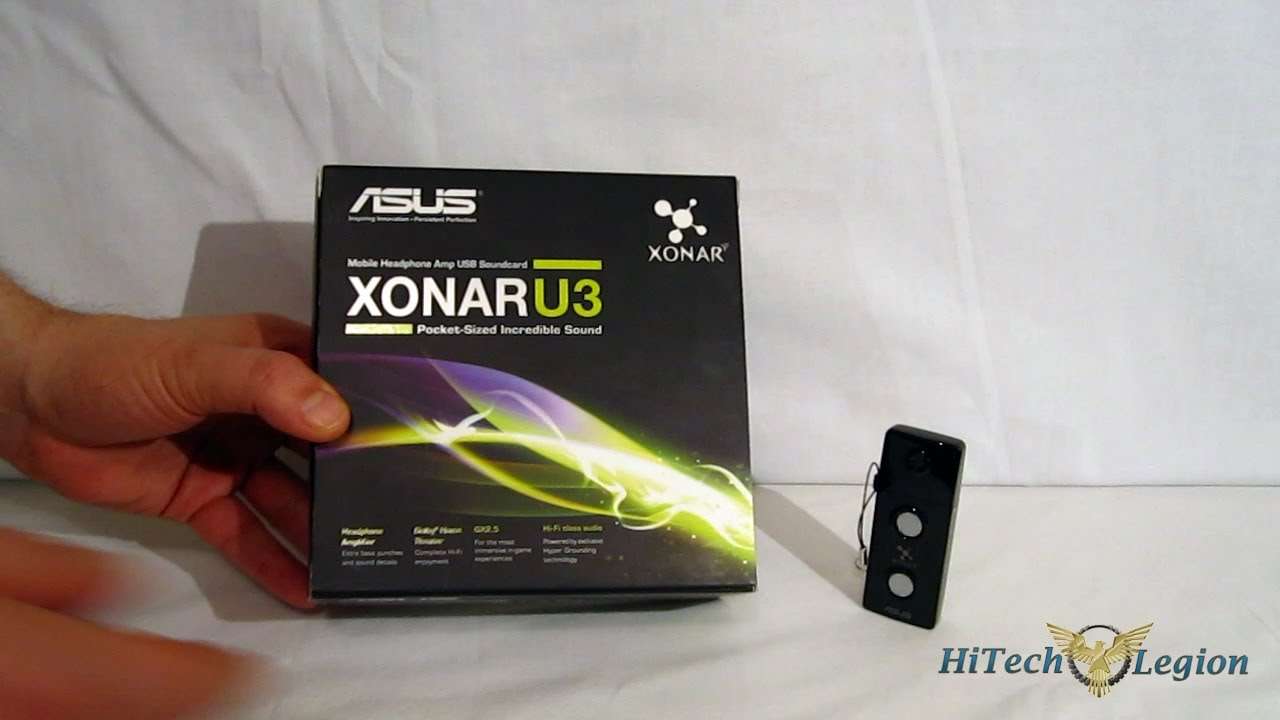 Driver for ASUS Xonar U3 PLUS Audio
