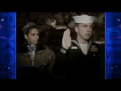 Halle Berry 1996 re-enlistment ceremony Rome, Italy