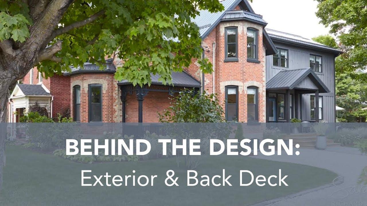 Sarah Richardson Off The Grid behind the design: exterior & back deck (sarah off the grid, s2)