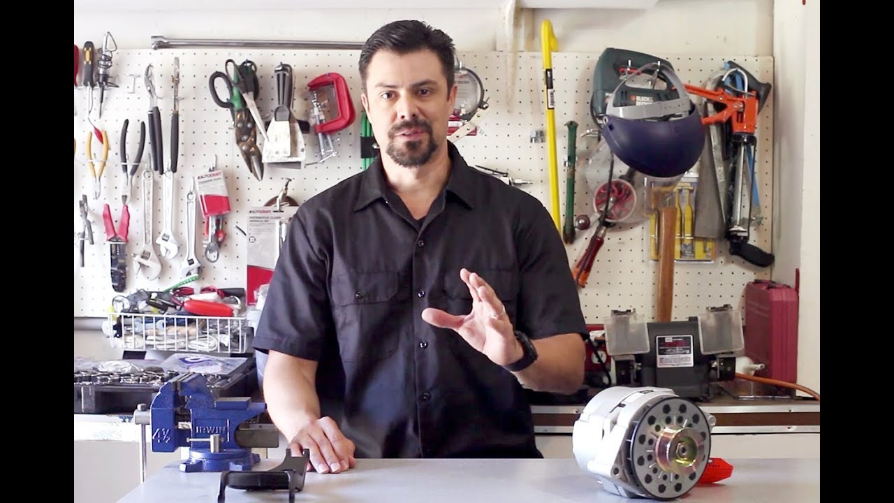 How To Remove And Change An Alternator Corvette C4 Youtube 95 Lt1 Wiring Diagrams