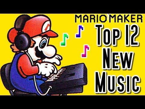 Super Mario Maker Top 12 New MUSIC Courses (Wii U)