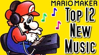 Repeat youtube video Super Mario Maker Top 12 New MUSIC Courses (Wii U)