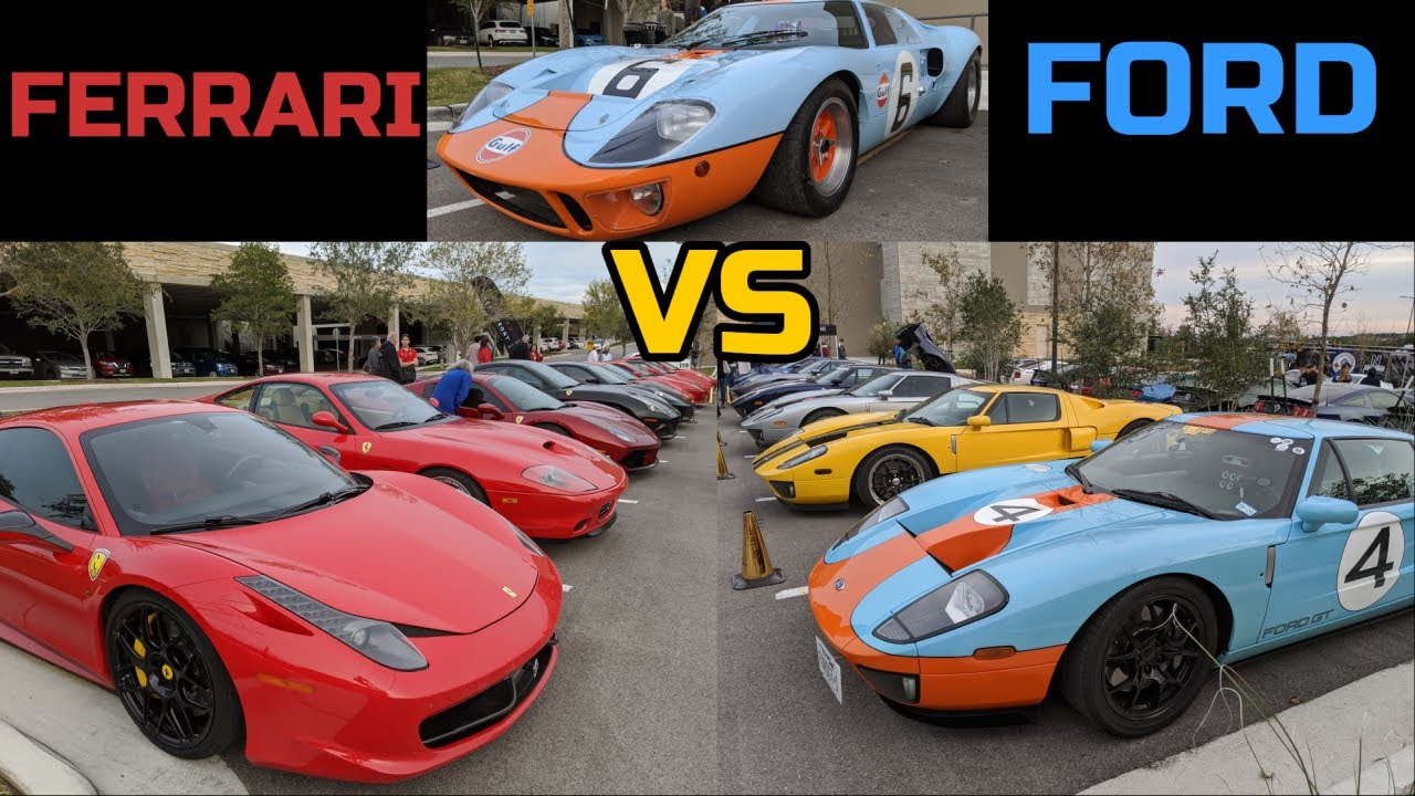 Ford Vs Ferrari Normal Guy Supercar