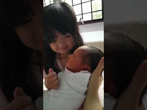 The Ace & TJ Show - Baby Sneezes and Big Sister Knows Just What to Say!