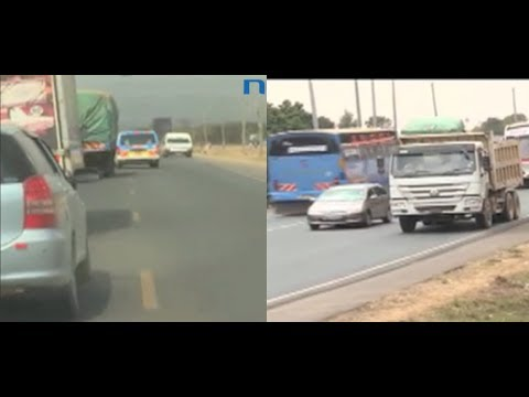 Motorists' Bad Habits Persist Along The Deadly Salgaa - Sachang'wan Stretch
