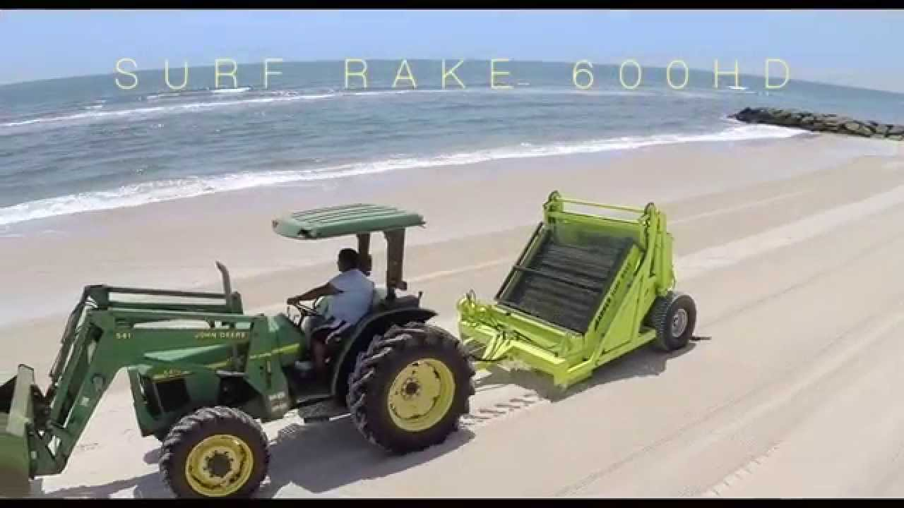 Barber Surf Rake 600hd Beach Cleaning Machine