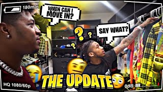 The Update On Me Moving Into The DDG Mansion!!
