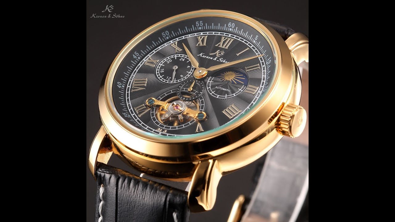 mechanical dp waterproof com amazon binssaw leather tourbillon men watches sports watch brand calendar automatic aatos business