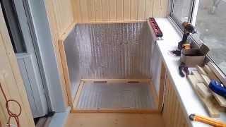 видео Ящик (термошкаф) для хранения овощей на балконе зимой: делаем своими руками