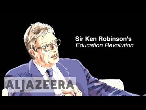 Thumbnail: Sir Ken Robinson's Education Revolution - Animation