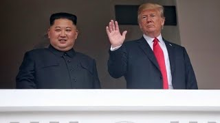Donald Trump sorprendió a Kim Jong-un con un video en su Ipad