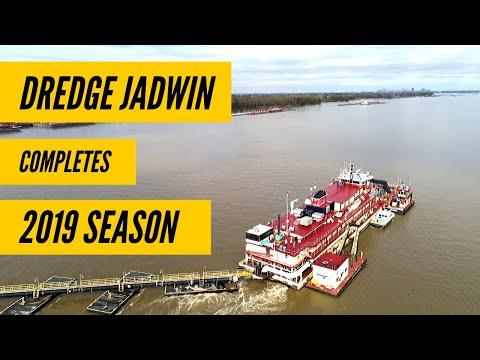 Dredge Jadwin Completes 2019 Dredging Season