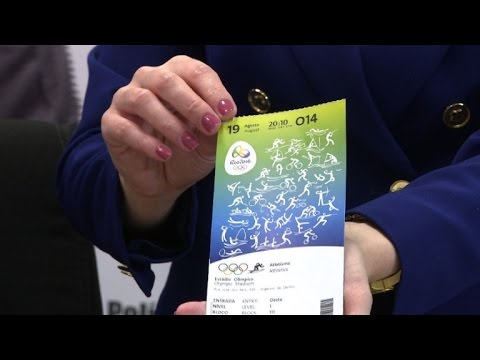 Man detained over Rio Olympics ticket touting