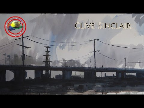 Arts tips on How to Paint Watercolour Scenes with Clive Sinclair on Colour In your Life