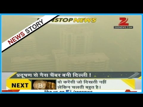 Air pollution crossed dangerous levels in Delhi