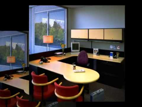 Attractive Cozy Beautiful Small Office Interior Designs