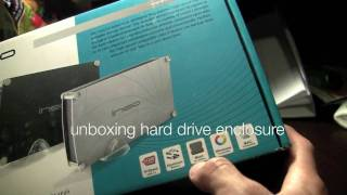 SATA Hard Drive enclosure unboxing