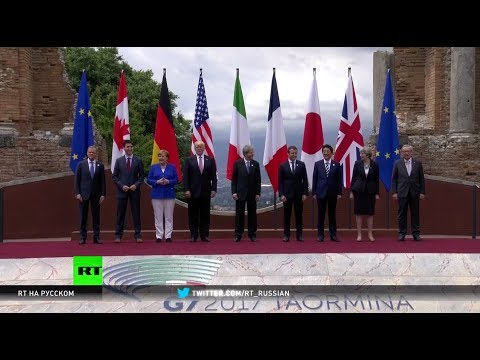 Саммит G20 -2017 в Гамбурге: Путин и Трамп пожали друг