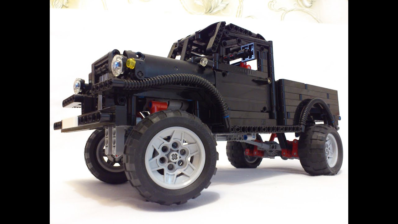 lego technic dodge power wagon 1962 youtube. Black Bedroom Furniture Sets. Home Design Ideas