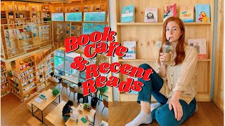 A Dreamy Book Cafe in Seoul + My Recent Reads VLOG