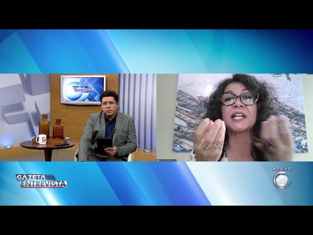 1° Bloco: Gazeta Entrevista com Eliane Sinhasique