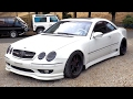 2001 Mercedes Benz CL500 **Custom Wide Body** (Estonia Import) Japan Auction Purchase Review