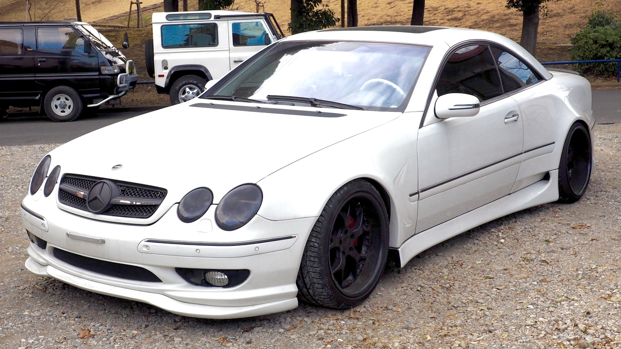 2001 mercedes benz cl500 custom wide body estonia for Mercedes benz cl500 review