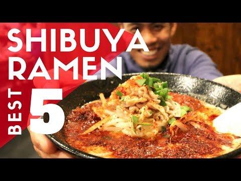TOP 5 Must-Try TOKYO RAMEN | Shibuya Kaedama Special
