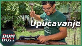 Upucavanje dugih cevi (montaža i upucavanje optike)