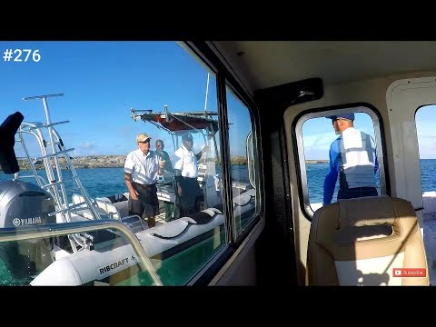 Cat Cay Bahamas Security Explained Crooked PilotHouse Boat Solo Trip Miami To Bimini