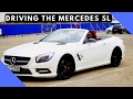 Driving the Mercedes SL 500 in the rain!