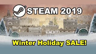 STEAM WINTER SALE 2019/2020! Christmas Holiday Sale! Games, Badges, Cards, Best Deals + Dates!