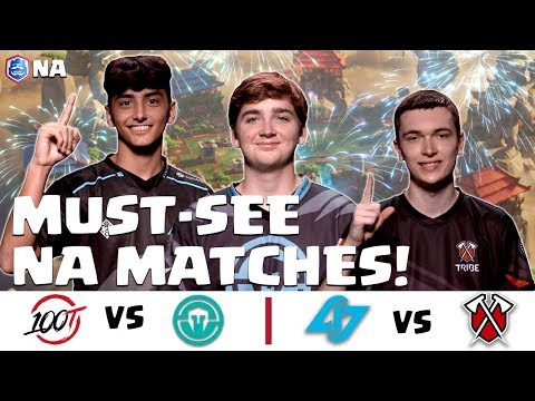 CRL North America: 100 Thieves v. Immortals | Counter Logic Gaming v. Tribe Gaming