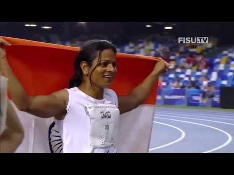 Dutee Chand - INDIA In The Women's 100m Sprint Gold