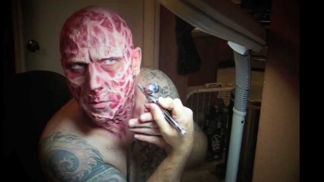How to - Make up FX - Freddy Krueger - Music by The Abyss - YouTube