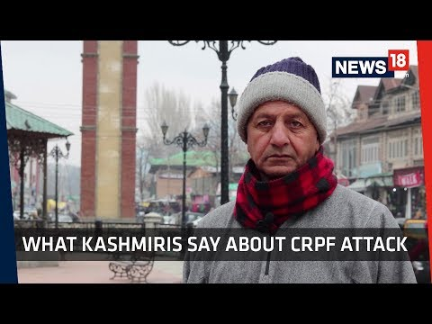 """Murder of Humanity"" Kashmiris react to Pulwama CRPF Attack"