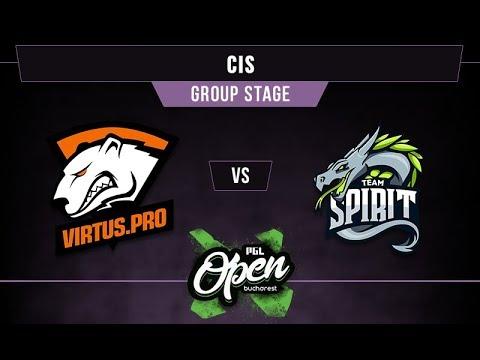 VP vs Spirit Game 2 - PGL Bucharest CIS Qual. Group B -@dragondropdota @nephsensei @DeltaFoxBravo