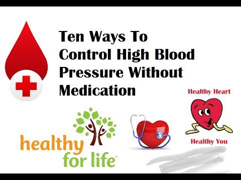Blood Pressure Natural Cure Get Off Medication