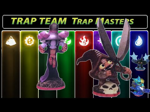 Skylanders Trap Team Trap Masters FULL 16 Figure Checklist ...