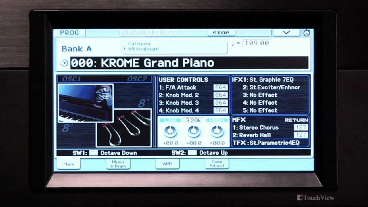 KORG KROME-61 SYNTH - Music Workstation
