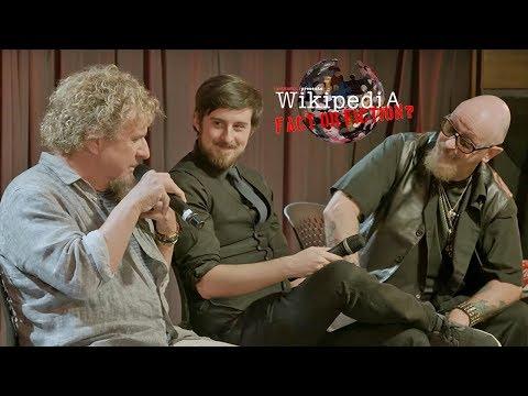 Rob Halford + Sammy Hagar - 'Wikipedia: Fact or Fiction?' LIVE