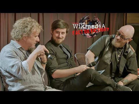 Rob Halford + Sammy Hagar Play 'Wikipedia: Fact or Fiction?' Live