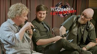 Rob Halford + Sammy Hagar - 'Wikipedia: Fact or Fiction?' LIVE at the Grammy Museum