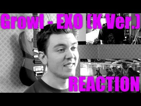 EXO Growl (Korean ver.) Reaction / Review - MRJKPOP ( 으르렁 )