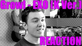 EXO Growl (Korean ver.) Reaction / Review - MRJKPOP ( 으르렁 )