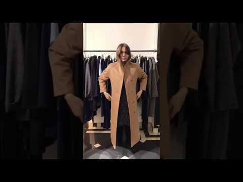 Женское пальто кэмэл | Интернет-магазин Am'Werkstatt | Распродажа пальто